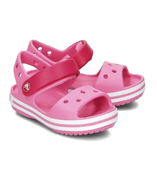 Купити Сандалії дитячі Crocs Kids Crocband Sandal Kids Party Pink - фото 1