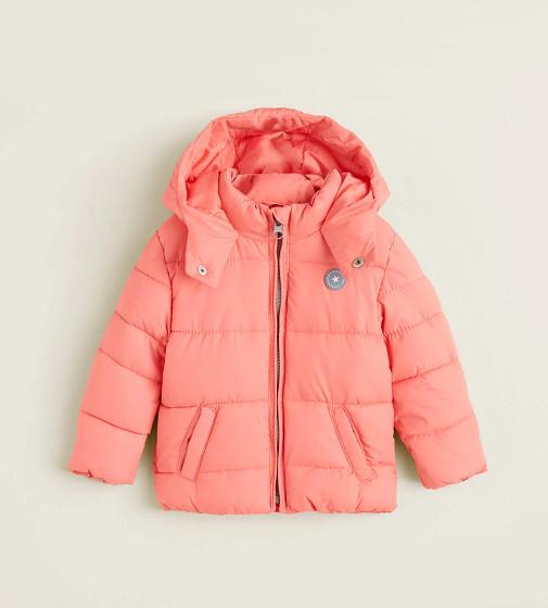 Купити Утепленна куртка з капюшоном Mango - фото 1